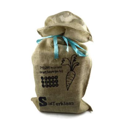 Sinterklaas jute zak pakjes express