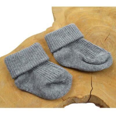 Baby sokjes – grijs