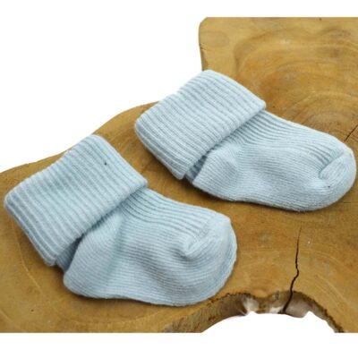 Baby sokjes – licht blauw