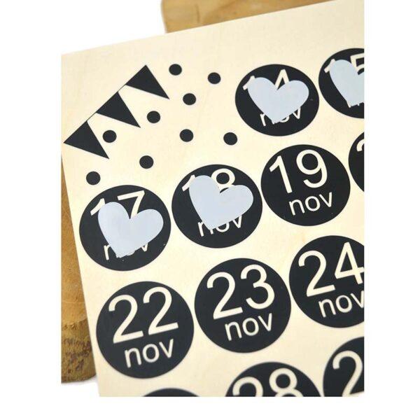 Pakjesavond aftelkalender