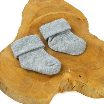 Baby sokjes - Grijs