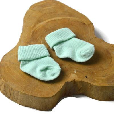 Baby sokjes - mint groen